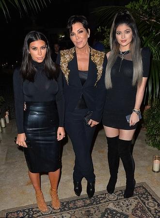 kim kardashian black