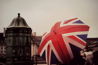 umbrella union jack bag