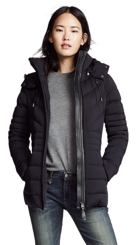 Mackage Patsy Matte Down Jacket in black