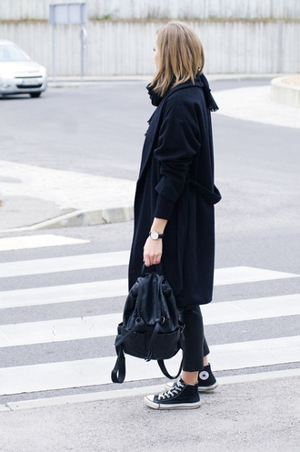 katiquette blogger coat bag shoes jewels