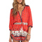 Spell & the gypsy collective desert wanderer playsuit in sunset | revolve