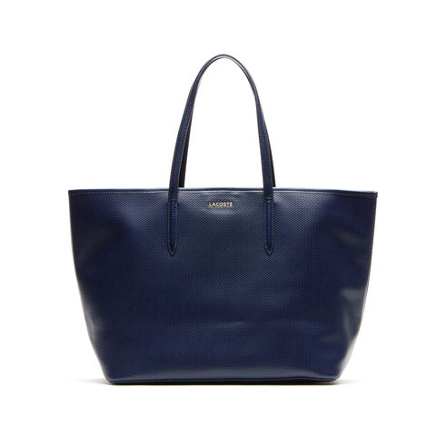 Chantaco leather shopping bag - Lacoste Canada