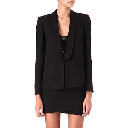 MAJE - Dovette jacquard blazer | selfridges.com