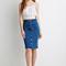 Buttoned denim skirt | forever 21 canada