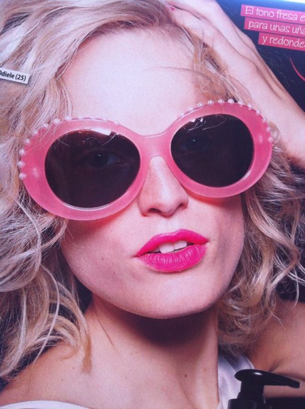 sunglasses pink sunglasses pink eighties xxl georgia may jagger