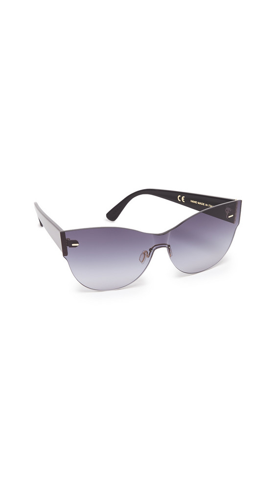 1aaf18c9057b Super Sunglasses Kim Screen Sunglasses in black / grey
