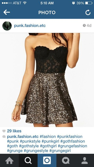 black lace dress mini dress grunge glitter dress sparkly dress black dress sleeveless dress bustier dress