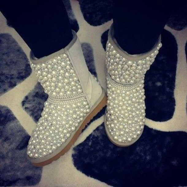 Shoes Diamonds Boots Ugg Boots Wheretoget