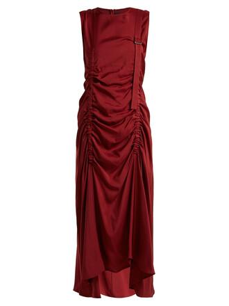 dress burgundy