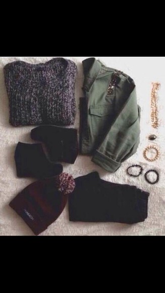 jacket green shoes army green cute need on the asap fashion style love more neednow fall outfits cardigan