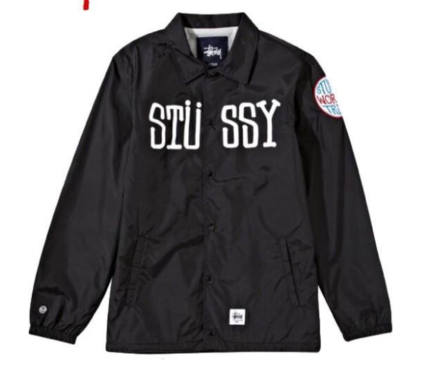 Stussy Windbreaker Jacket - JacketIn