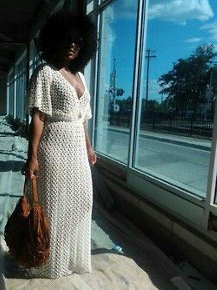 dress maxi dress crochet maxi dress white crochet dress white dress