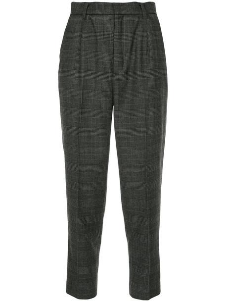 Astraet cropped women wool grey pants