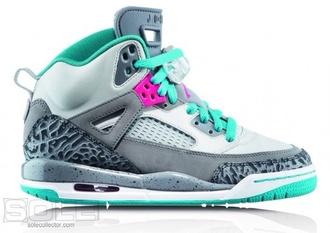 shoes jordans air jordan pink teal grey bag teal and gray jordan's . trainers mint