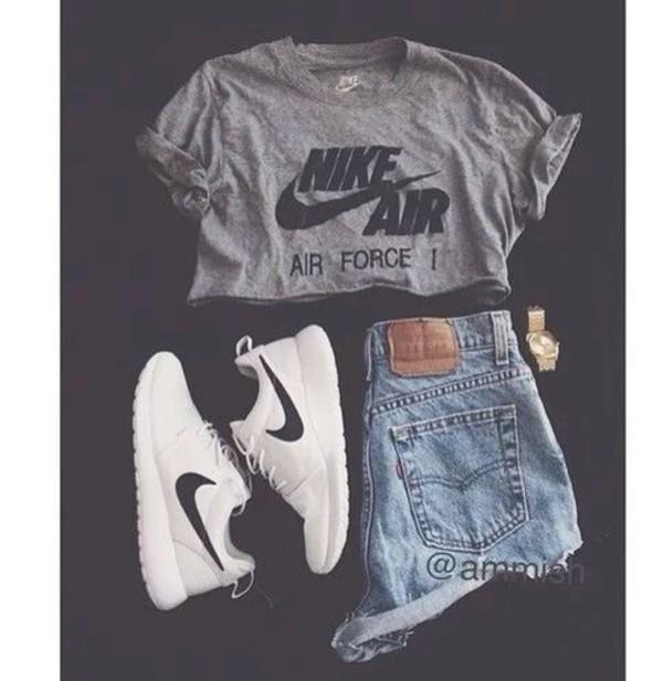 shirt nike nike air shorts t-shirt shoes sneakers nike shoes nike sneakers nikes levi's levi's