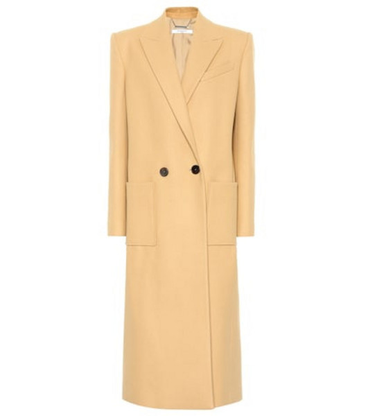 Givenchy Virgin wool coat in beige / beige