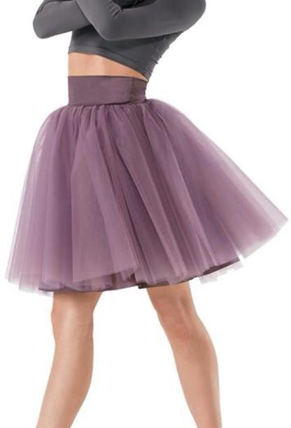 skirt ballet skirt