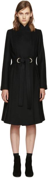 Proenza Schouler coat black wool
