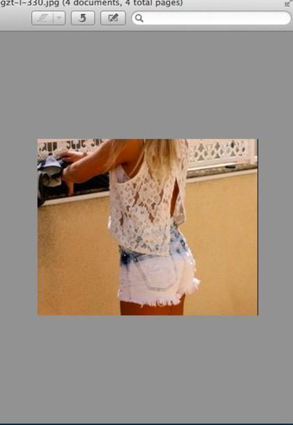 tank top shorts
