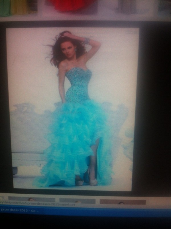 dress high low prom dresses blue prom dress a-line prom dress