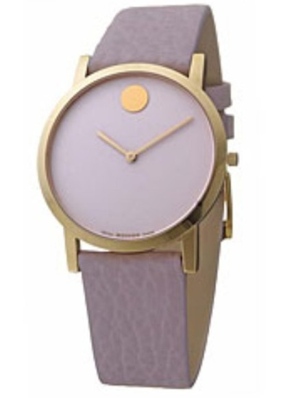 jewels watch movado leather