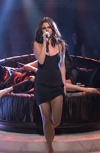 dress little black dress selena gomez black dress mini dress