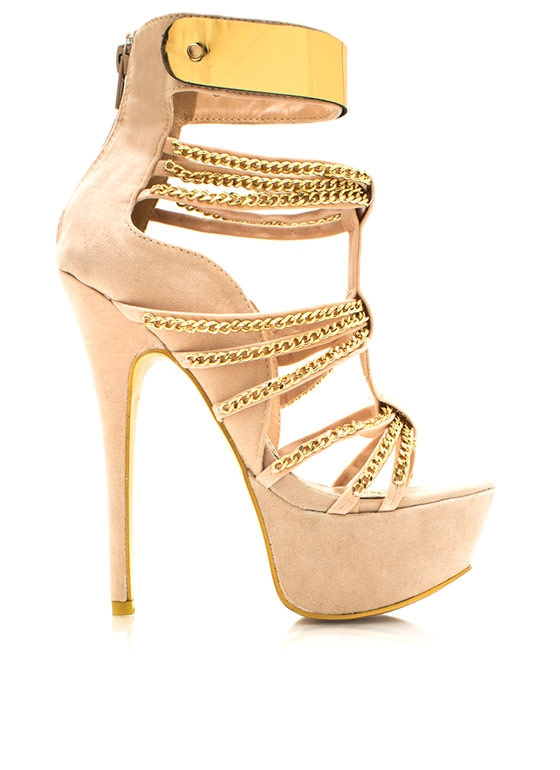 All chained up heels