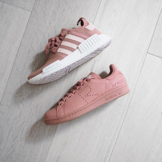 shoes nmd adidas nmd adidas nmd r1 pink superstar stan smith pink sneakers