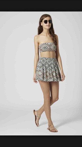 dress style top skirt