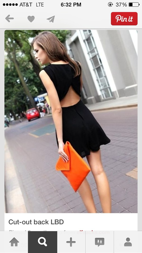 dress black sleeveless