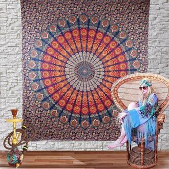 home accessory mandala tapestry hippie mandala wall hanging large tapestries dorm decor wall art queen bedding hippie bedcover beach blanket yoga mat