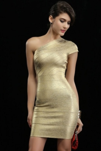 dress bandage bandage dress one shoulder dress sexy party dresses wots-hot-right-now cocktail dress
