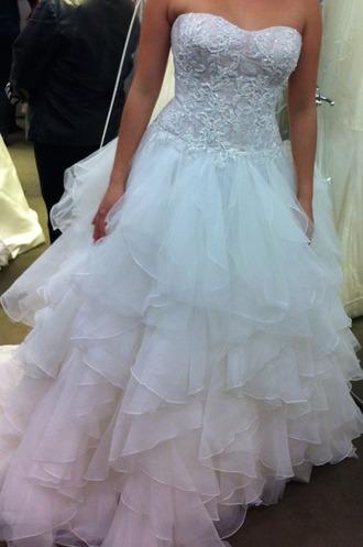 dress pink blue wedding dress ombre wedding dress cute