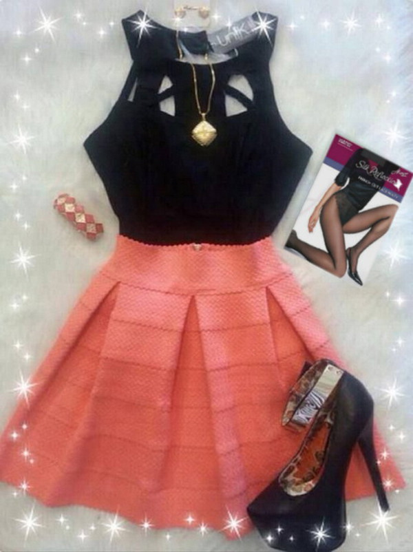 cute fashion style skirts and tops skirt