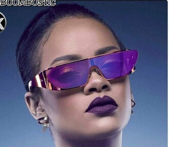 sunglasses purple rihanna