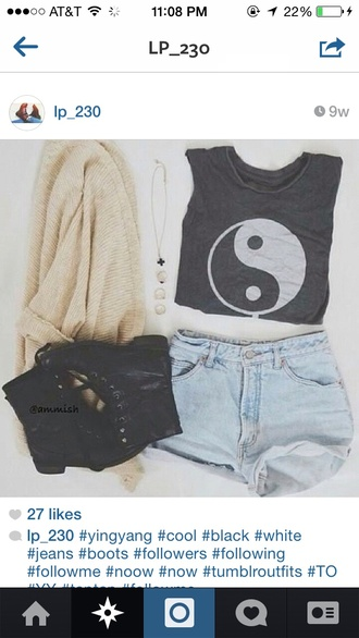 yin yang hippie boho boho chic boho shirt hippie chic shoes
