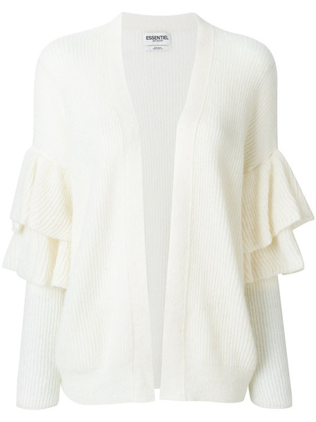 ESSENTIEL ANTWERP cardigan cardigan women mohair nude sweater