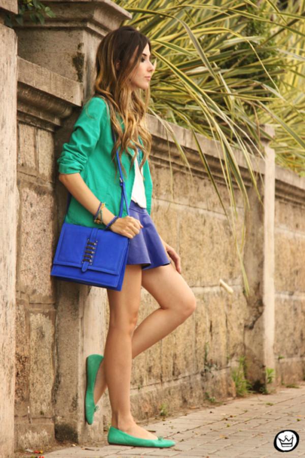 fashion coolture t-shirt skirt jacket bag