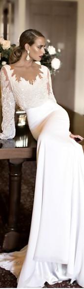 long sleeves embellished