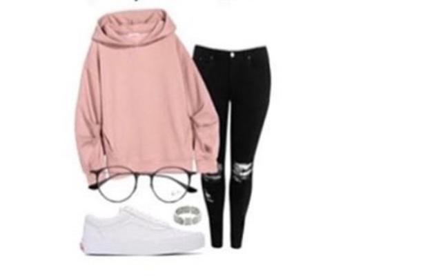 sweater cowl neck dark pink