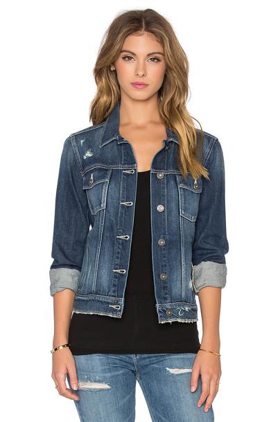 Paige Denim jacket blue