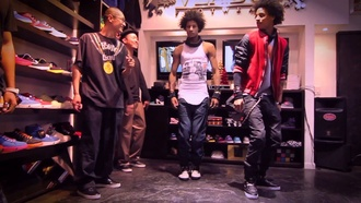 tank top les twins les twins tanktop shop bracelets dance front back tail