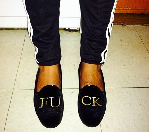 quote on it shoes loafers