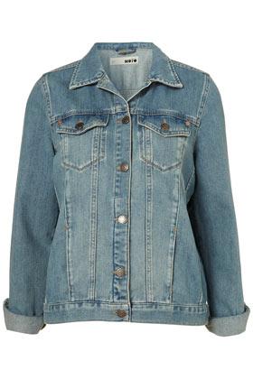 cec00af2e MOTO Oversized Denim Jacket - Jackets & Coats - Clothing - Topshop