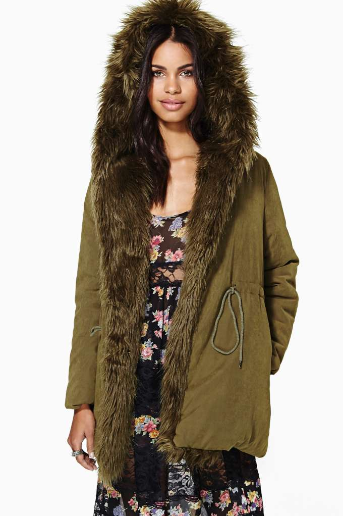 UNIF Cara Puffy Parka in  Clothes Jackets   Coats at Nasty Gal