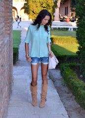 my silk fairytale,shirt,shorts,shoes,bag,jewels