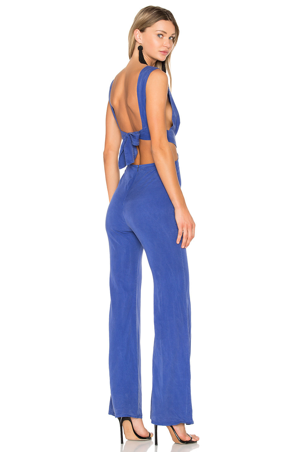 Wildfox Couture Salty Blonde Jumpsuit in blue