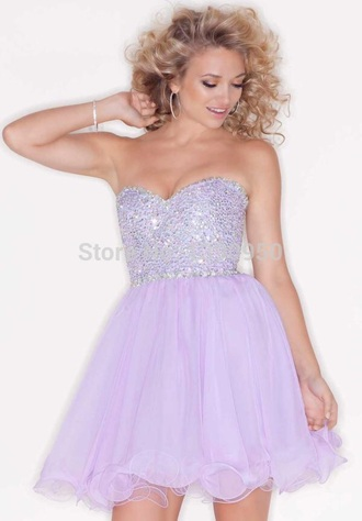 dress lavander dress lavander purple purple dress sparkly dress homecoming dress