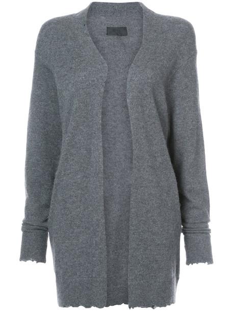 rta cardigan cardigan open women grey sweater