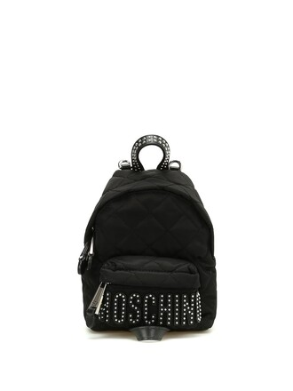 mini quilted backpack mini backpack silver black bag